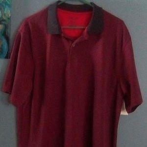 Men's IZOD Burgundy Polo/Golf Shirt
